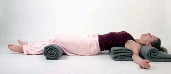 Usando o cobertor