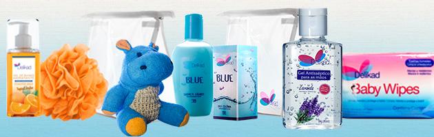 Kits de cosméticos práticos para as férias