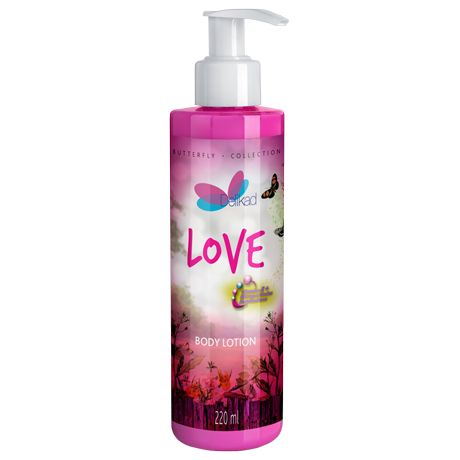 Delikad Butterfly Collection Body Lotion Love