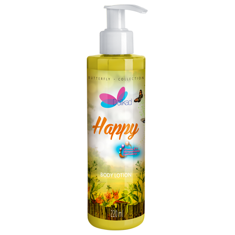 Delikad Butterfly Collection Body Lotion Happy