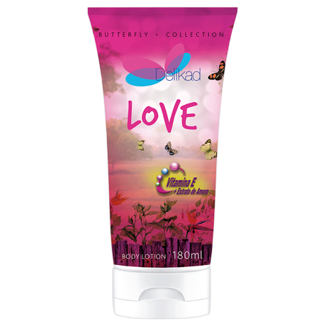 Delikad Butterfly Collection Body Lotion Love 180ml