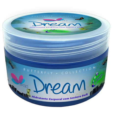 Delikad Butterfly Collection Body Lotion Dream