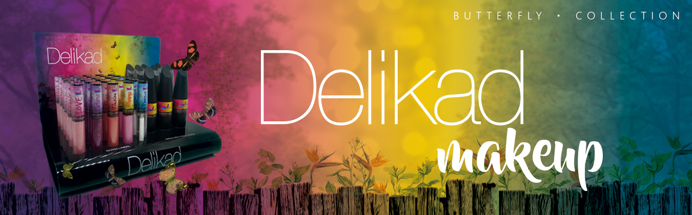 Delikad Butterfly Collection Máscara de Argan para Cílios